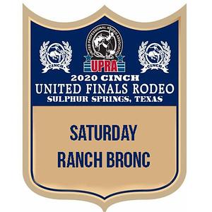 Saturday Ranch Bronc