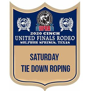 Saturday Tie Down Roping