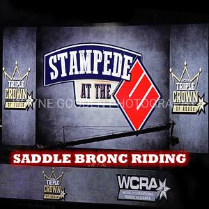 WCRA Saddle Bronc Riding Long Round