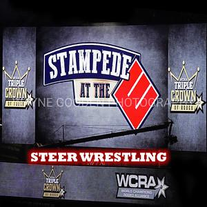 WCRA Steer Wrestling Long Round