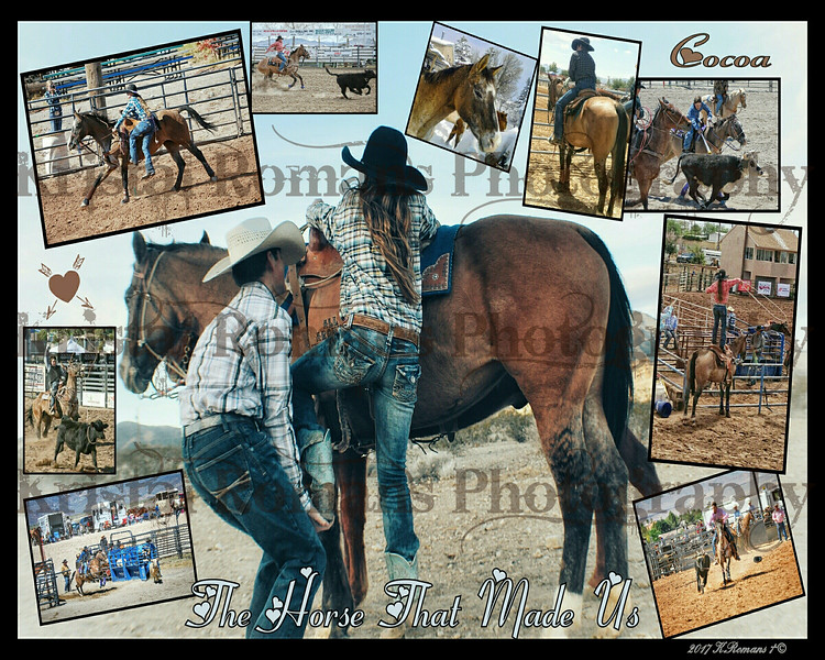 Cocoa & the Kids Collage