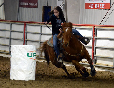 High River Winter Barrel Racing Series Feb 14 2015