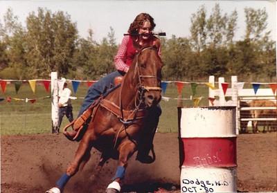 Cheryl Samson - North Dakota High School Rodeo Queen 1980