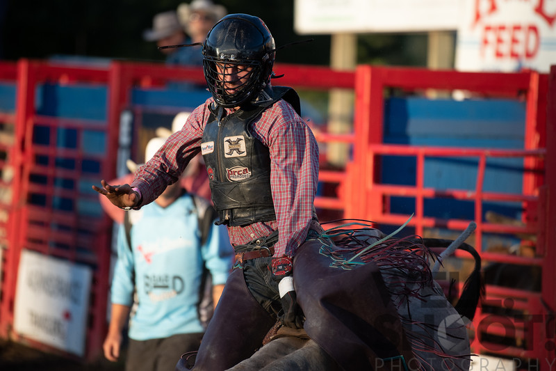 Jordan Sammnos - Bandon, OR 27th Annual PRCA Eugene Pro Rodeo July 07, 2018 Eugene, OR.