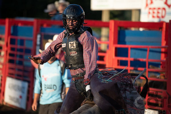 Jordan Sammnos - Bandon, OR 27th Annual PRCA Eugene Pro Rodeo July 07, 2018 Eugene, OR.