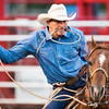 Brad Goodrich of Hermiston, OR 27th Annual PRCA Eugene Pro Rodeo July 04, 2018 Eugene, OR.