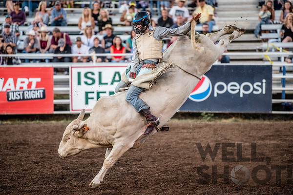 Colton Dougherty, Canby, OR 27th Annual PRCA Eugene Pro Rodeo July 07, 2018 Eugene, OR.
