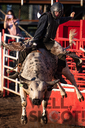 Justin Houston, Coquille, OR 27th Annual PRCA Eugene Pro Rodeo July 07, 2018 Eugene, OR.