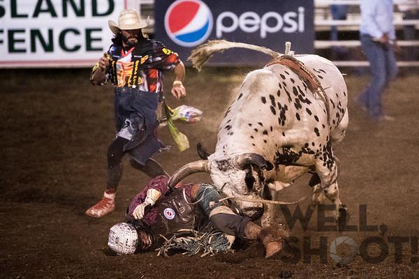 Dawson Branton, Jefferson, OR. 27th Annual PRCA Eugene Pro Rodeo July 07, 2018 Eugene, OR.