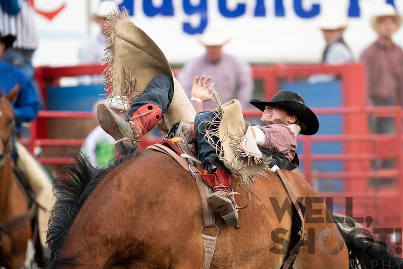 Brent Bannon, Prineville, OR 27th Annual PRCA Eugene Pro Rodeo July 04, 2018 Eugene, OR.