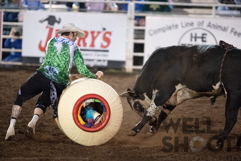 27th Annual PRCA Eugene Pro Rodeo July 04, 2018 Eugene, OR.