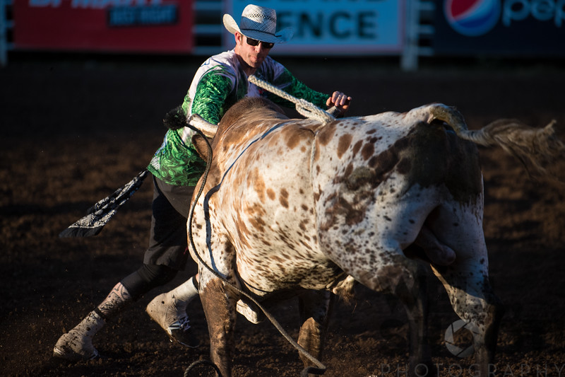 Matt Akers Professional Bull Fighter - 27th Annual PRCA Eugene Pro Rodeo July 07, 2018 Eugene, OR.