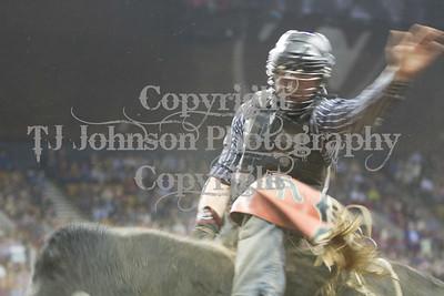 2013 National Western - Saturday Bull Riding