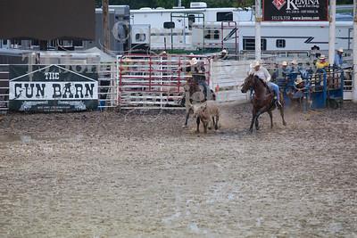 2014 Dayton Rodeo Steer Wrestling - Friday