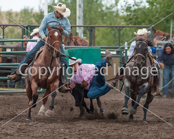 2014 Pincher Creek Rodeo 1st perf Friday