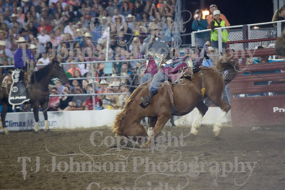 2014 Tri-State Rodeo - Bareback - Saturday