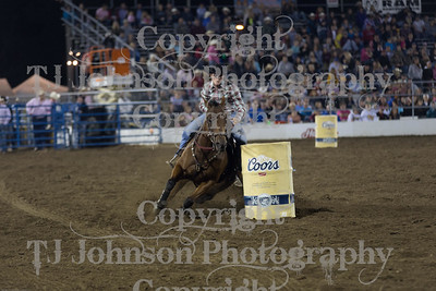 2014 Tri-State - Barrel Racing - Friday