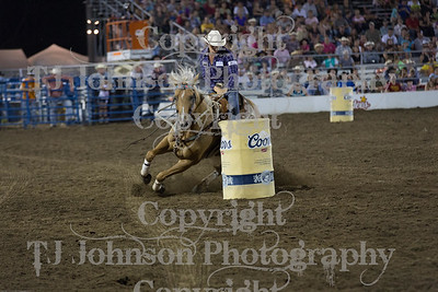 2014 Tri-State - Barrel Racing - Thursday