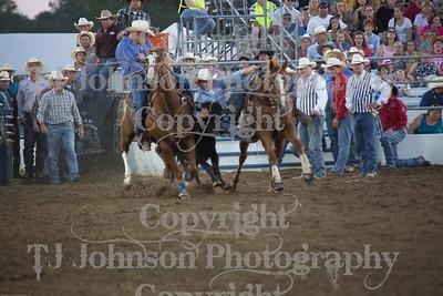2014 Tri-State Steer Wrestling - Thurs