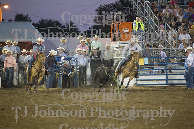 2014 Tri-State Team Roping - Thurs