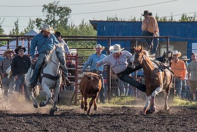 2016 rodeo friday steer wrestling-3135