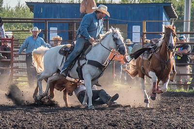 2016 rodeo friday steer wrestling-3141