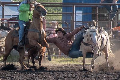2016 rodeo friday steer wrestling-3092