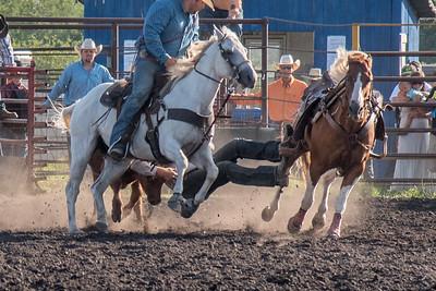 2016 rodeo friday steer wrestling-3140