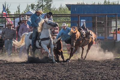 2016 rodeo friday steer wrestling-3072