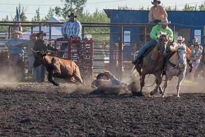 2016 rodeo friday steer wrestling-3096
