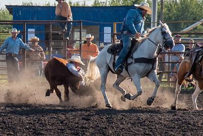 2016 rodeo friday steer wrestling-3144