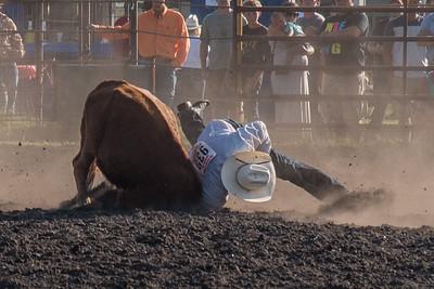 2016 rodeo friday steer wrestling-3147