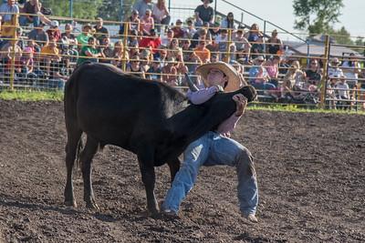 2016 rodeo friday steer wrestling-3121
