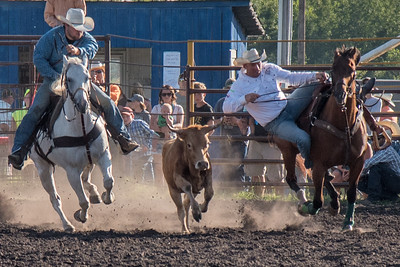 2016 rodeo friday steer wrestling-3083