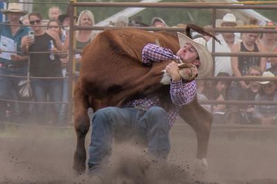 2016 rodeo saturday steer wrestling-4133