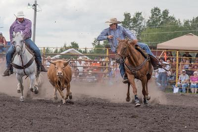 2016 rodeo saturday steer wrestling-4108