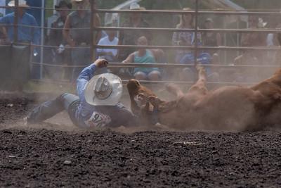 2016 rodeo sunday steer wrestling-5221