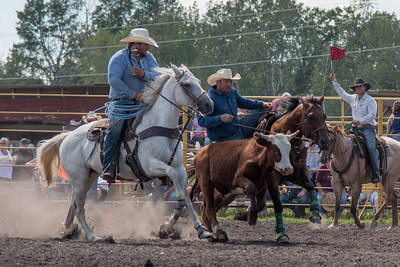 2016 rodeo sunday steer wrestling-5203