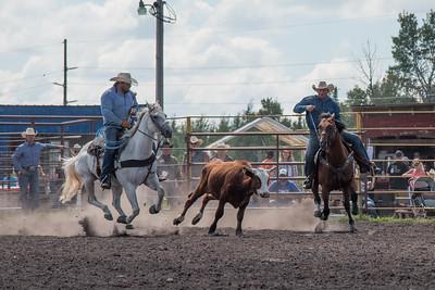 2016 rodeo sunday steer wrestling-5202
