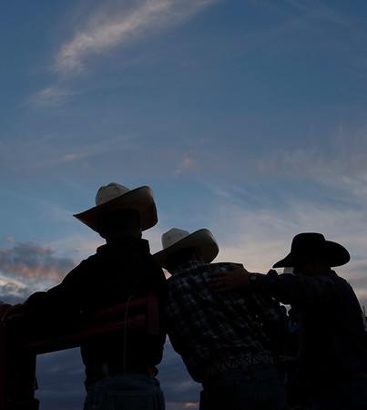 Final night at the Sheridan WYO Rodeo