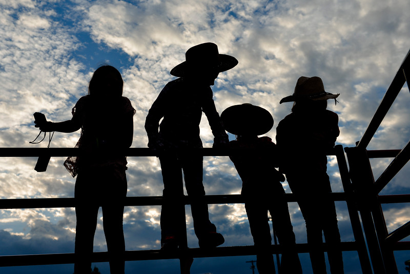 Justin Sheely | The Sheridan Press<br /> Children play behind the arena during the Sheridan County Rodeo last August at the Sheridan County Fairgrounds.