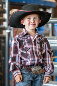 Little Cowboy, Big Hat