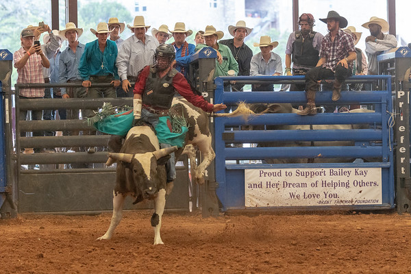 Bailey Kay Hutson Bull Riding, 2018