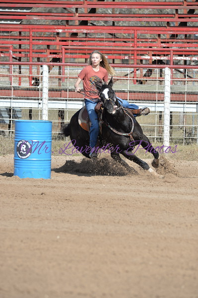 Riding the River Cowboy Fellowship Barrel Saddle Series Dec 17, 2016