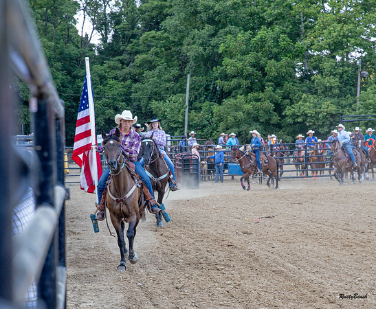 Brown County Rodeo 2AUG19-22