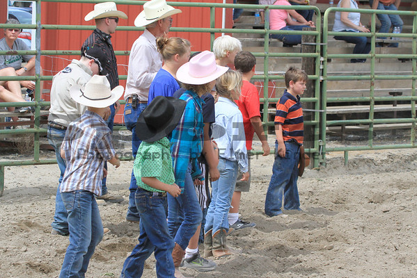 Calf Scramble/Arlington Jackpot Rodeo 2013