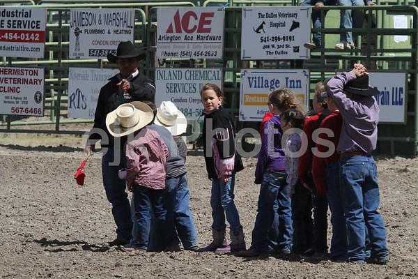 Calf Scramble/Arlington Jackpot Rodeo 2010