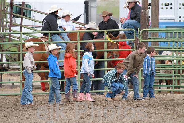 Calf Scramble/Arlington Jackpot Rodeo 2011