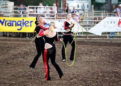 Riata Ranch Cowboy Girls - professional trick riding/roping team
