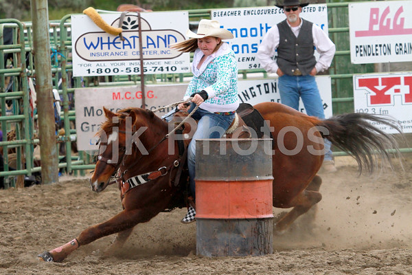 Arlington Junior Barrel Racing